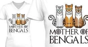 Mother Of Bengals T-Shirt