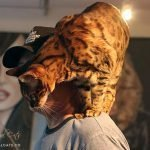 Jean-Marc Richer with his Bengal at Salon MOOV