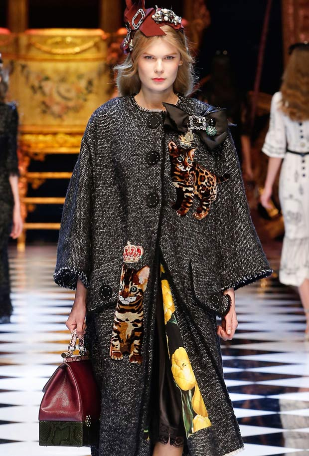 Dolce & Gabbana - Fall Winter 2016 - Milan Fashion Week