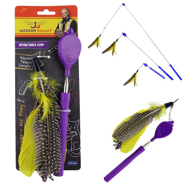 Jackson Galaxy Air Prey Wand Mojo Maker