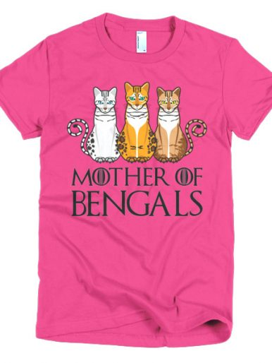 Mother Of Bengals T-shirt (American Apparel)