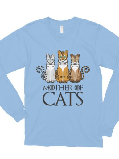 Mother Of Cats Long Sleeve T-shirt