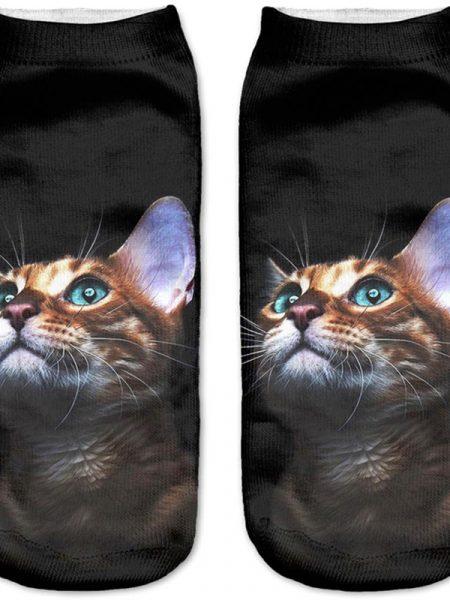 Bengal Cat 3D Socks