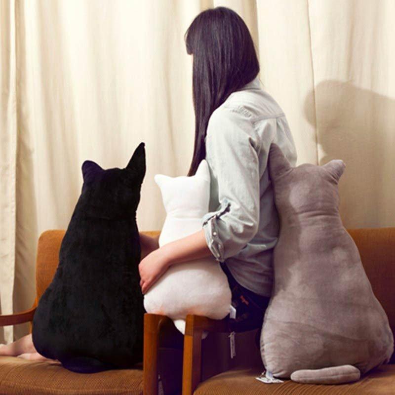 Cute Cats Seat Sofa Pillows