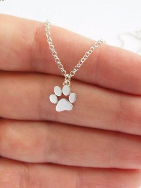 Cute Paw Print Necklace