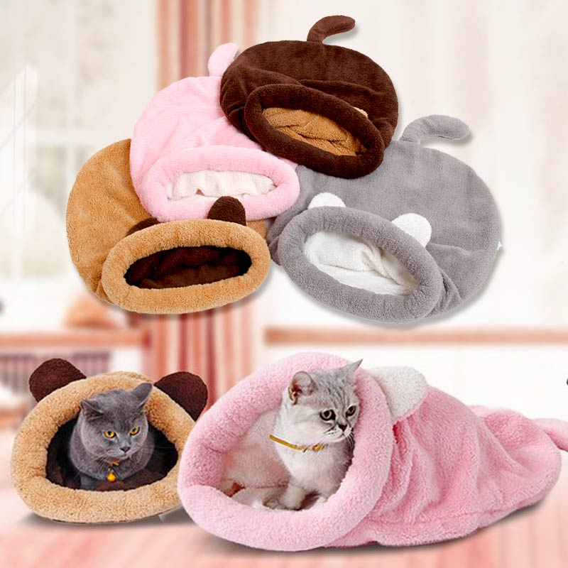 Sleeping Bag Beds For Cats