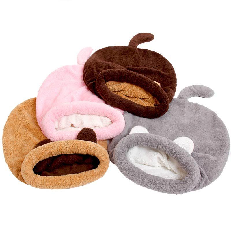 Cute Sleeping Bag Cat Beds 4 colors