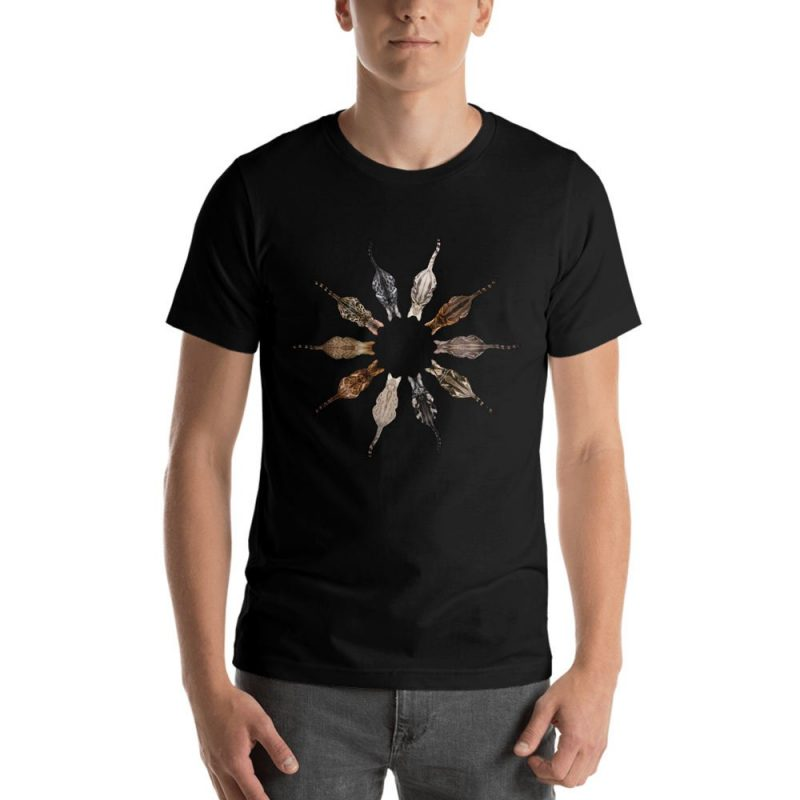 Bengal cat flower t-shirt